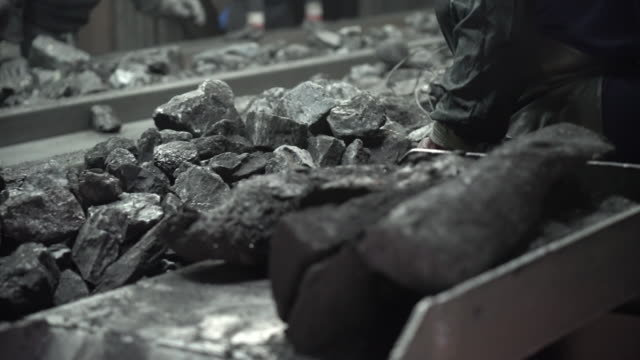 coal operations in jangseong mining station of taebaek, gangwon province, south korea - anthracite coal stock videos & royalty-free footage