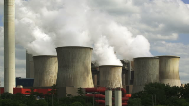 HD Coal Power Plant Emissions (Real Time)