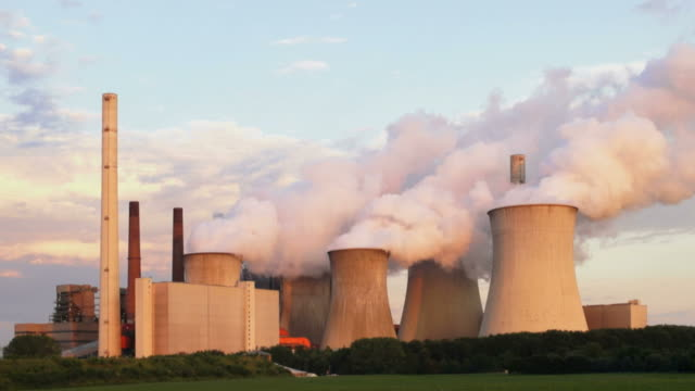 Coal Power Plant (Time Lapse)
