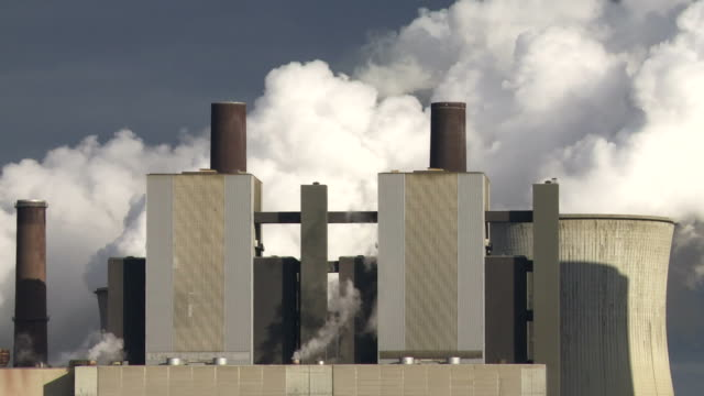 HD Coal Power Plant (Time Lapse)