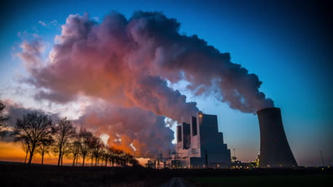 coal power plant - fumes stock videos & royalty-free footage