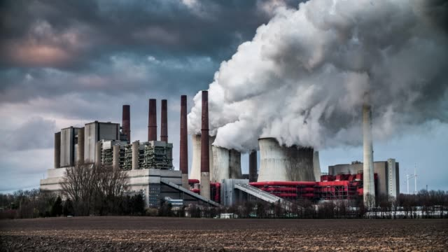 coal power plant - coal fired power station stock videos & royalty-free footage