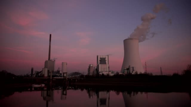 coal power station - nuclear power station stock videos & royalty-free footage