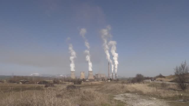coal-addicted bulgaria, which is also the poorest eu member state, gears up to transform its outdated and highly polluting coal-fired power plants to... - change stock videos & royalty-free footage