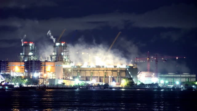 coal-fired power plant - air pollution stock videos & royalty-free footage