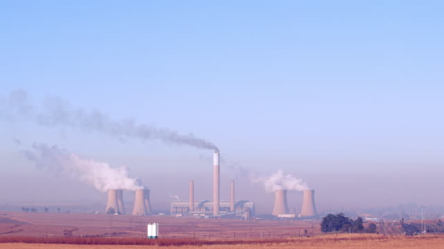 coal-fired power station - mpumalanga province stock videos and b-roll footage