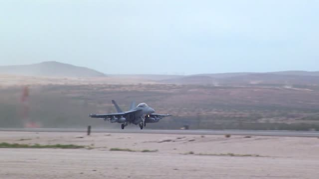 coalition forces take part in reg flag 192 nellis air force base nevada - united states airforce stock videos & royalty-free footage