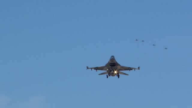coalition forces take part in reg flag 192 nellis air force base nevada - nellis air force base stock videos and b-roll footage
