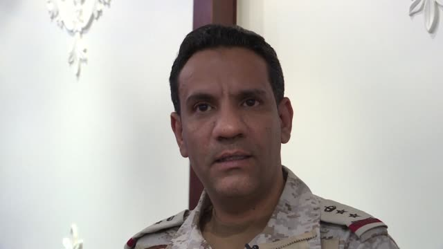 SAU: Saudi coalition spokesman accuses Iran of backing Huthi attack