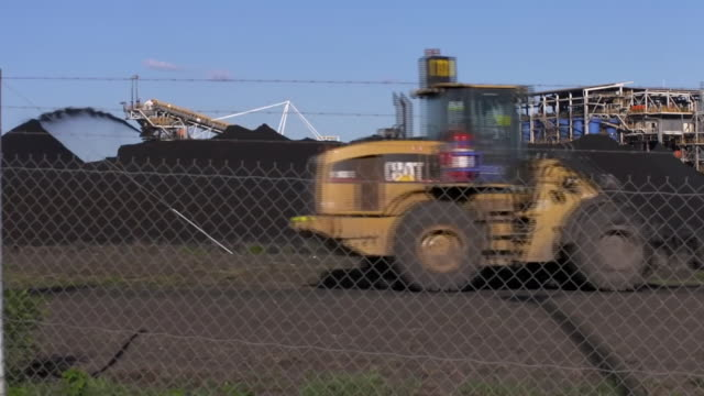 a coalmine in new south wales - air pollution stock videos & royalty-free footage