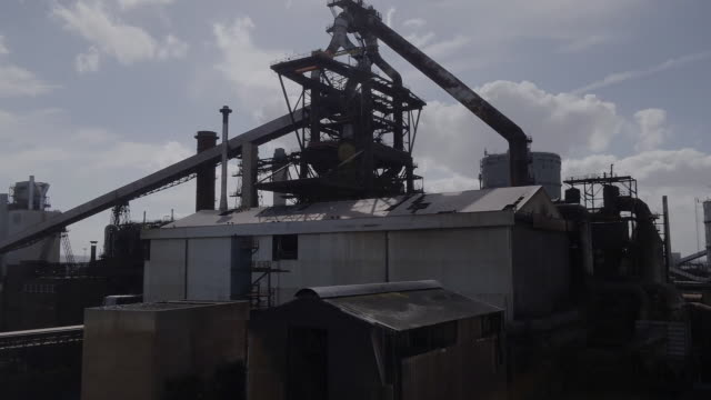 a coalmine in teeside - steel stock videos & royalty-free footage