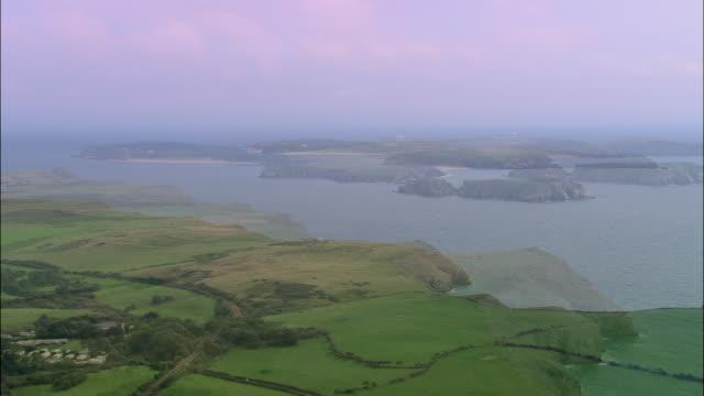 Coast Around Caldey Island