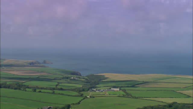 coast near abercastle - pembrokeshire stock videos and b-roll footage