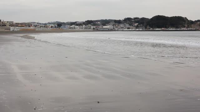 日本の海岸 - 不在点の映像素材/bロール