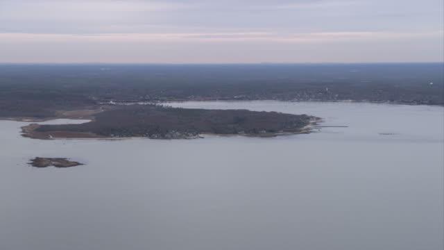 Coast of Massachusetts near New Bedford. Shot in November 2011.