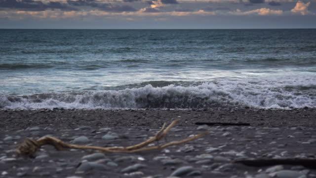 stockvideo's en b-roll-footage met slow motion: coast - drijfhout