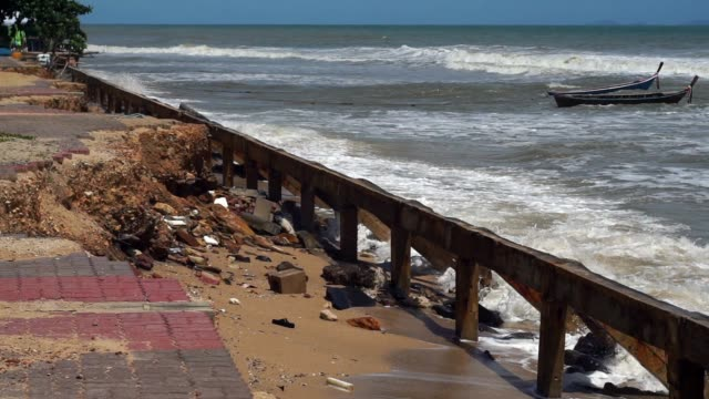 Coastal Erosion due to Extreme Weather