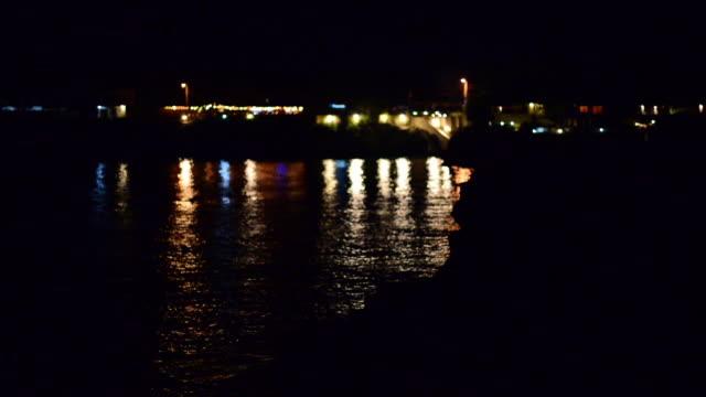 Coastal Jamaica, night