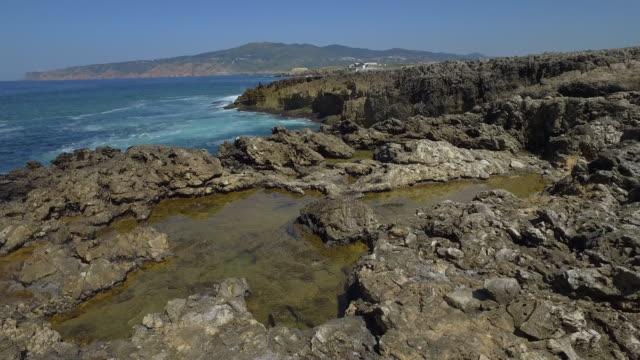 ポルトガルの海岸の風景 - カスカイス点の映像素材/bロール