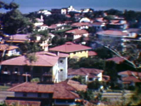 coastal residential houses, panama city, panama - panama city panama stock videos & royalty-free footage