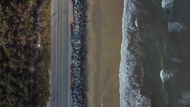 coastal road in bahia, northeast brazil - porto seguro stock videos & royalty-free footage