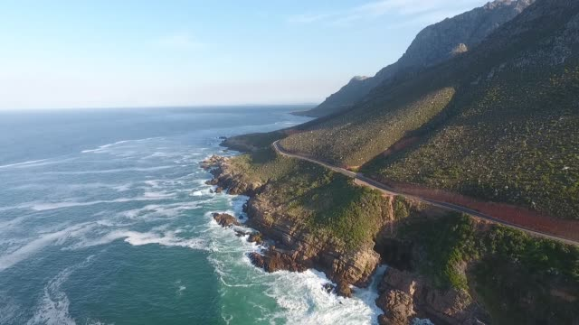 coastal road with a view - coastal road stock videos & royalty-free footage
