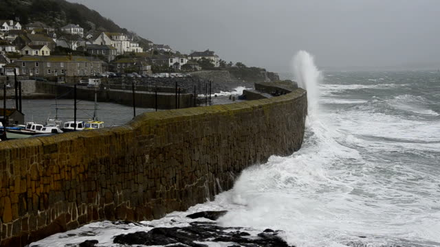 coastal storm - surrounding wall stock videos & royalty-free footage