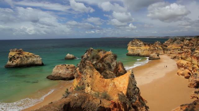 Coastal view of Praia Do Camilo, Lagos, Algarve, Portugal, Europe