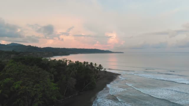 coastal view - costa rica video stock e b–roll