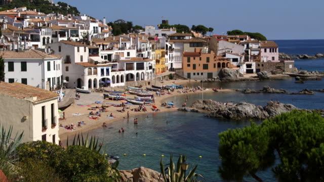 Coastal village of Calella de Palafrugell in Spain