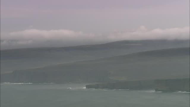 coastline approaching hoy - causeway stock videos & royalty-free footage