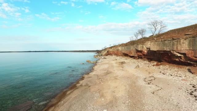 vídeos de stock, filmes e b-roll de litoral na ilha de öland, na suécia - sweden