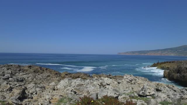 カスカイスの海岸線の自然 - カスカイス点の映像素材/bロール