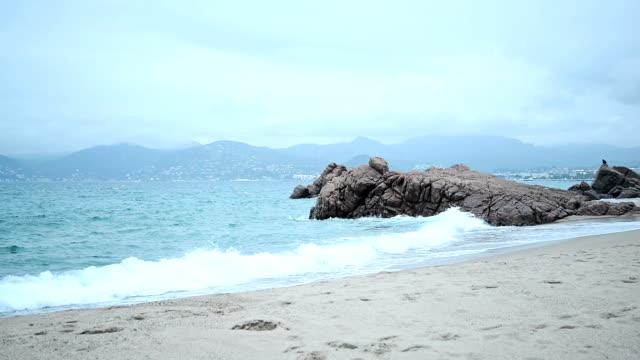 vidéos et rushes de littoral de cannes. - littoral