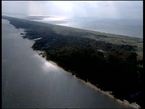 coastline of north carolina - north carolina beach stock videos & royalty-free footage
