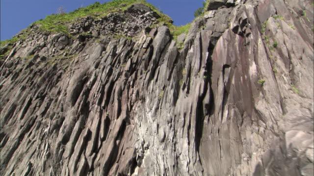 coastline of shiretoko peninsula in hokkaido - northern hemisphere stock videos & royalty-free footage