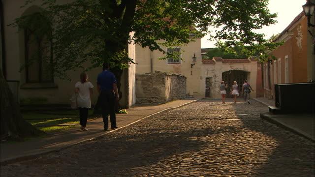 Cobblestone Road, Tallinn, Estonia