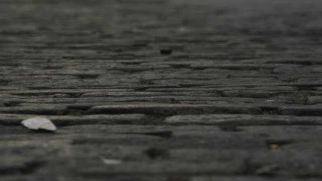 cobblestone street - cobblestone stock videos & royalty-free footage