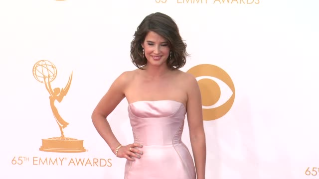 cobie smulders at the 65th annual primetime emmy awards - arrivals in los angeles, ca, on 9/22/13. - annual primetime emmy awards stock-videos und b-roll-filmmaterial