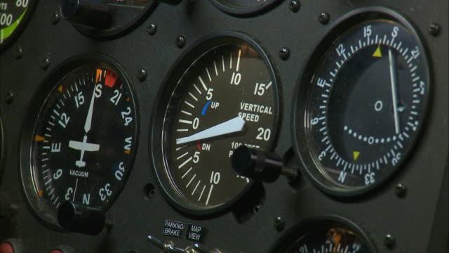 CU, Cockpit controls and gauges