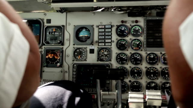 cockpit view in flight