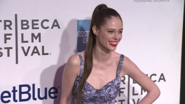 """coco rocha at """"mansome"""" premiere - 2012 tribeca film festival at bmcc tribeca pac on april 21, 2012 in new york, new york - tribeca festival stock videos & royalty-free footage"""