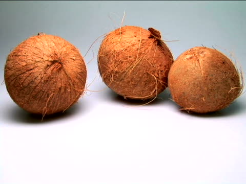 coconuts - small group of objects stock videos & royalty-free footage
