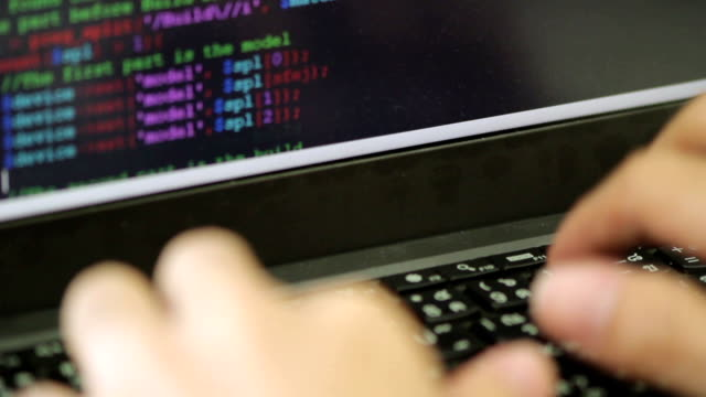 code-programmierung - code stock-videos und b-roll-filmmaterial