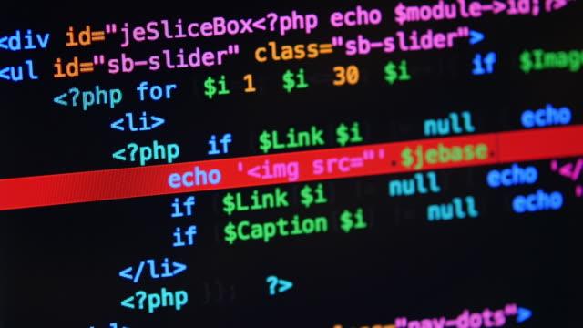 4 k : code-programmierung - code stock-videos und b-roll-filmmaterial