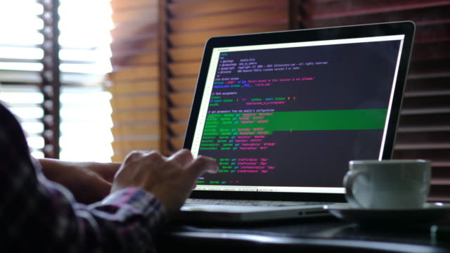 code programming - computer programmer stock videos & royalty-free footage