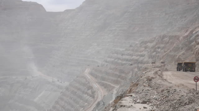 Codelco's Chuquicamata Division is an open pit copper and gold mine Calama Atacama Region El Loa Province Chile on Thursday August 2 2018