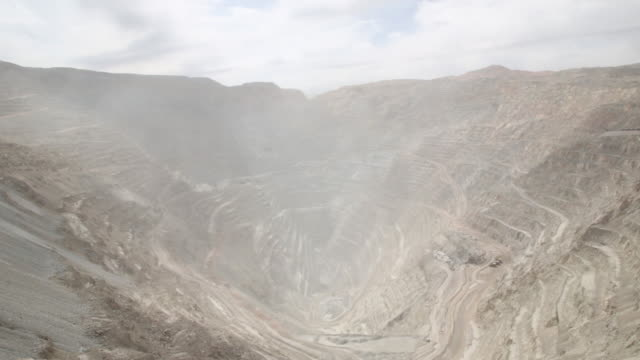 codelco's chuquicamata division is an open pit copper and gold mine calama atacama region el loa province chile on thursday august 2 2018 - antofagasta region stock videos and b-roll footage