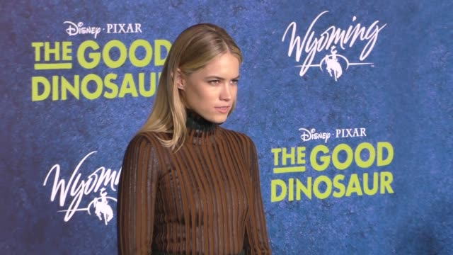 Cody Horn at The Good Dinosaur Premiere at El Capitan Theatre in Hollywood at Celebrity Sightings in Los Angeles on November 17 2015 in Los Angeles...
