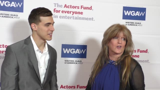 Cody Linley Susan Olsen at The Actors Fund's Tony Awards Viewing Gala at The Beverly Hilton Hotel in Beverly Hills at Celebrity Sightings in Los...
